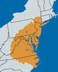 Mid-Atlantic Service Region