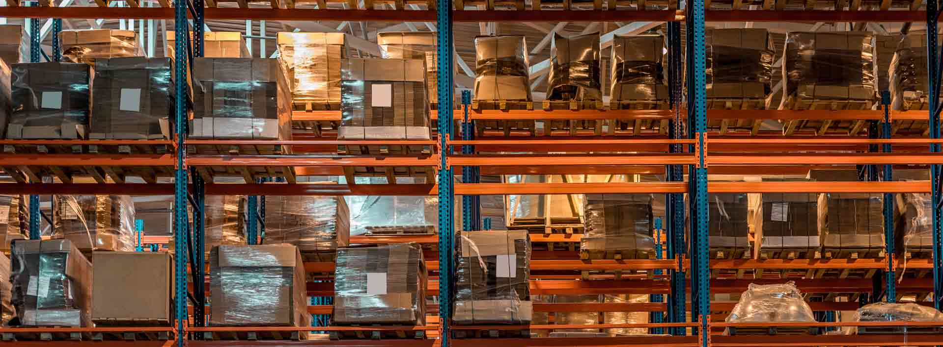 Excel Courier's Warehouse Racking