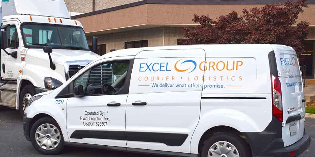 Excel Courier Transport Van