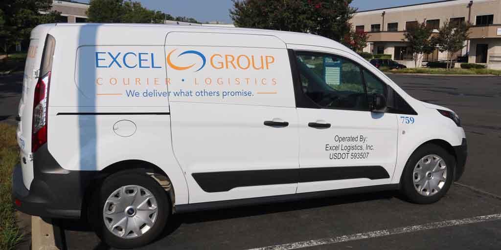 Excel Courier's Van