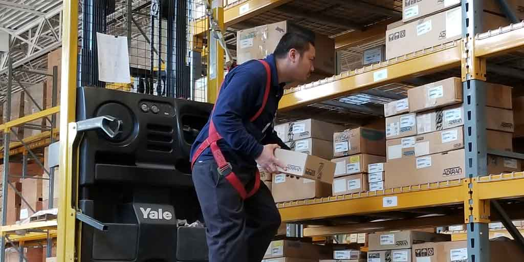 Excel Logistics Staff in the warehouse
